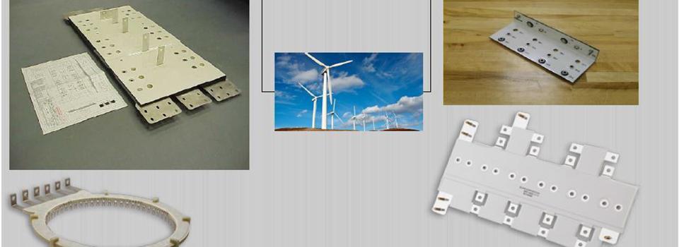 Busbar og kjøleløsninger for kraftelektronikk